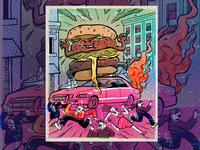 Terror Burger Poster