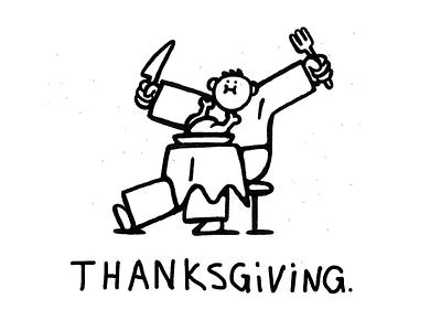 Thanksgiving Feast line framebyframe food turkey thanksgiving animation drawing flat art character design procreate ipad pro illustration zajno
