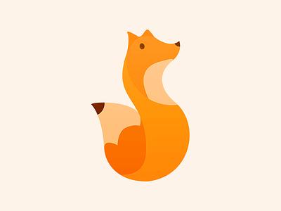 Pencil and fox pencil fox logo