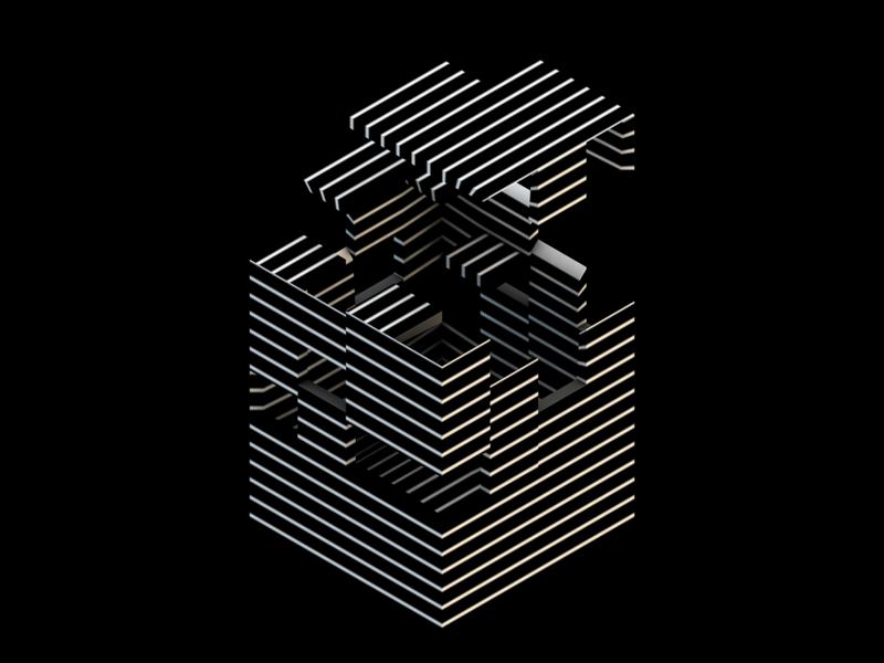 31 hdri dark abstract geometric 3d c4d