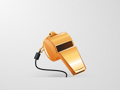 Whistle icon illustration sport whistle rubbik