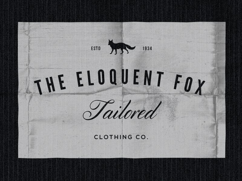 Fox vintage logos labels