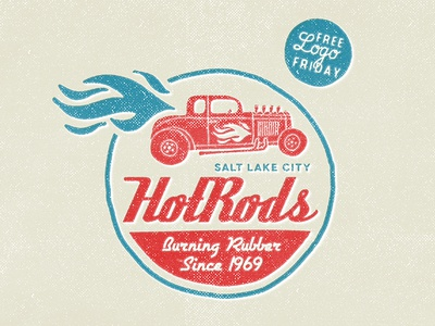 HotRods - Free Logo Friday