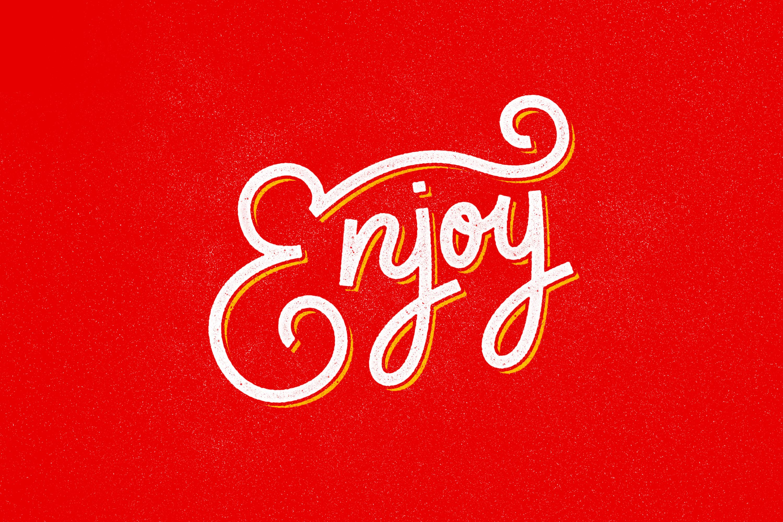 Enjoy Hand Lettering Type