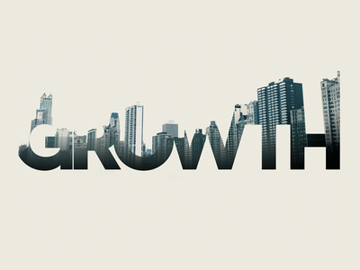 Growth typography photography exposure lettering effects texture masks photoshop layers