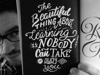 B.B.King Hand Lettering