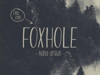 Freebie: Foxhole Typeface