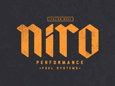Niro Fuel Systems blackletter brushscript clothing skate surf bezier curves vector lettering typography calligraphy brush hand lettering