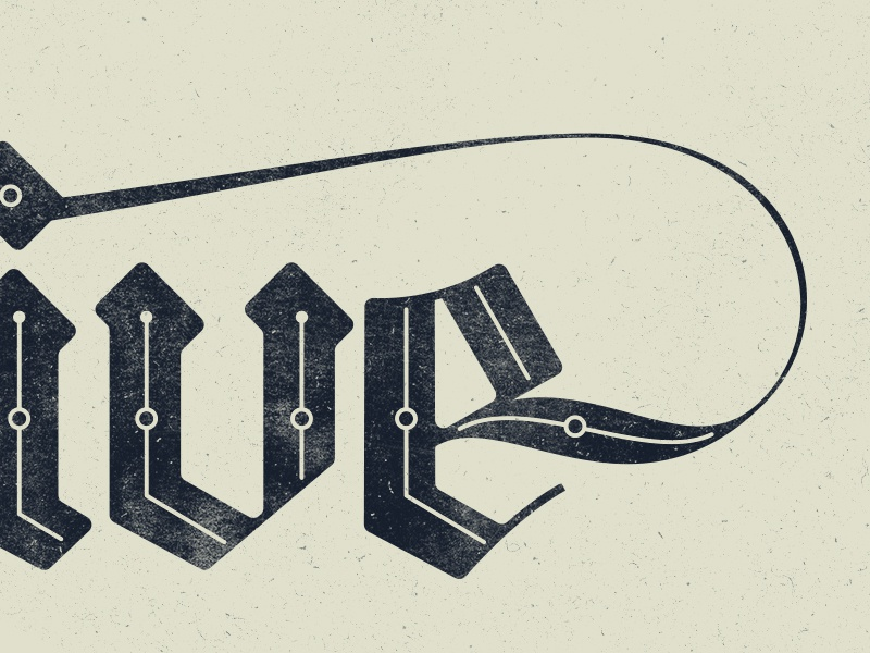 Blackletter By Ian Barnard