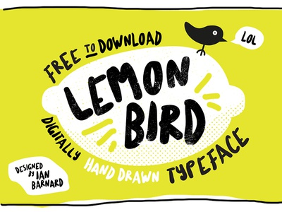 Lemon Bird Typeface