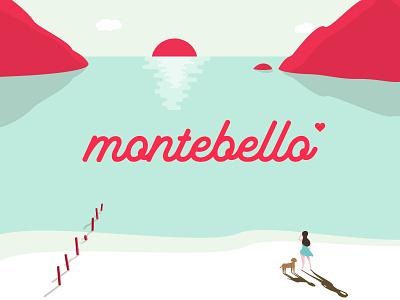 Montebello shop creative market script calligraphy typography cursive font lettering typeface