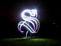 Light Calligraphy 'S'
