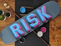 Risk - Skateboard
