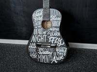 Guitar Lettering