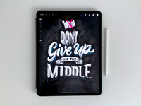 Don't Give Up in the Middle