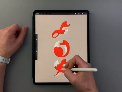 Fox timelapse video illustration procreate illustrator vector brush calligraphy lettering hand lettering typography