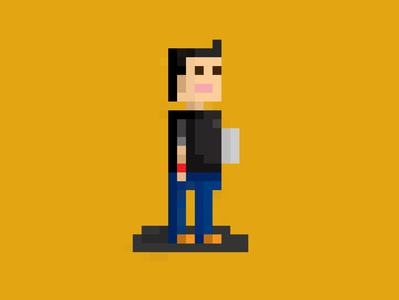 pixels 1 character design ai pixels illustration
