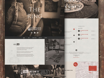 The Ring Pub Website Live