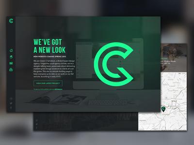 Green Chameleon Holding Website