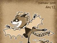 Inktober day 12 - dragon