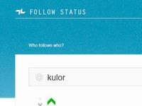 Follow Status