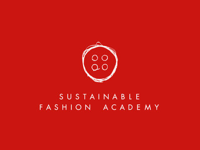Sustainable Fashion Academy: Logo update sustainable fashion academy communication strategy logotype composition color typography kerning