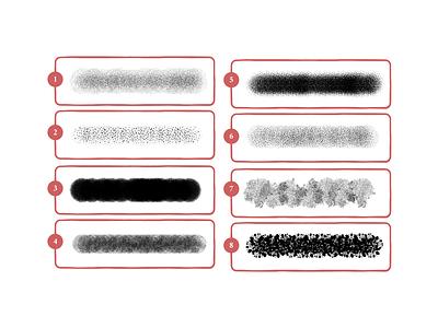Storm noise grunge grain characterdesign creative adobe illustrator visual design stipple illustrator brushes texture holt510 illustrator design illustration