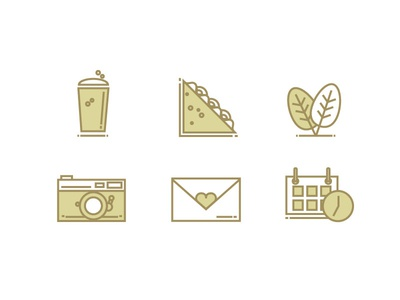 Beer Garden Icons
