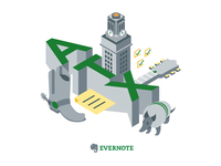 Evernote Austin Office T-Shirt