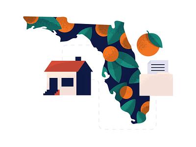 Florida Housing Market texture holt510 san francisco oakland illustration