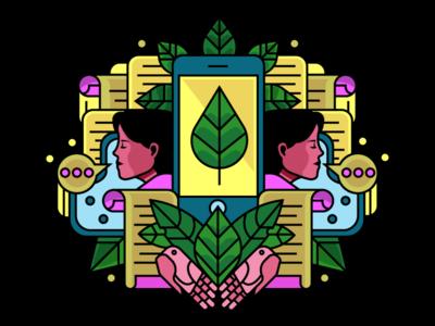 lines and fills illustrator visual designer character san francisco design holt510 oakland illustration