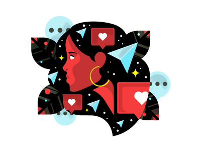 Do It For The Gram dm heart likes 510 san francisco bay area visual designer icons character texture design illustrator illustration san francisco oakland