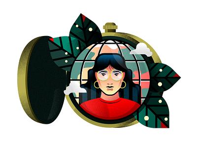 Globe design vector 510 visual designer icons character sf bay area illustrator texture holt510 san francisco oakland illustration