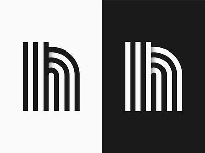 Geometric Letterform black and white logo geometric letterform black and white letter n skillshare
