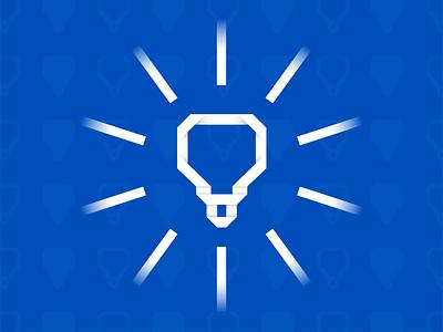 Paper Lightbulb design lightbulb paper pattern blue