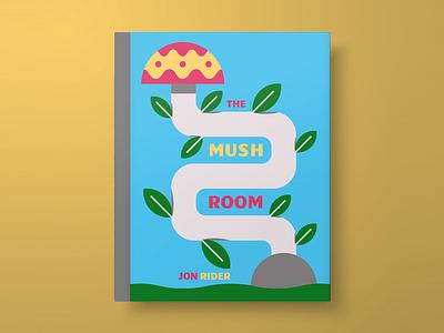 The Mushroom - Book Cover nature plant design book cover design book cover book mushroom