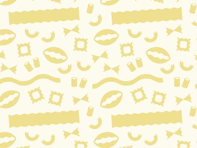 Pasta! branding pattern design food pasta pattern
