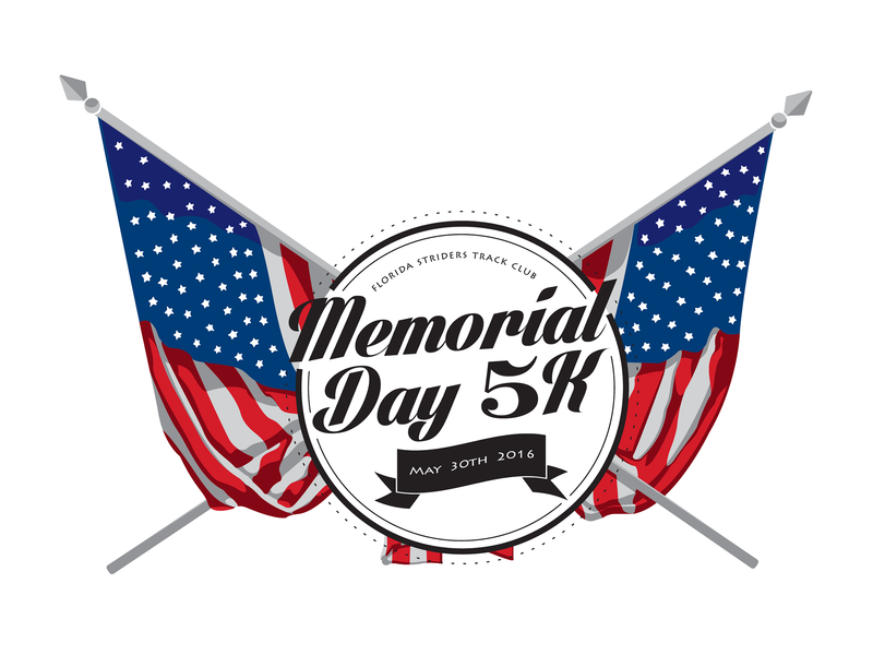One of my favs... american flag blue white red america flags running race 5k memorial day memorial