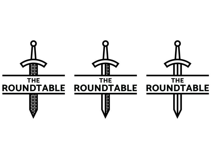 Iterations, Iterations restaurant tavern the roundtable king arthur medieval sword logo design