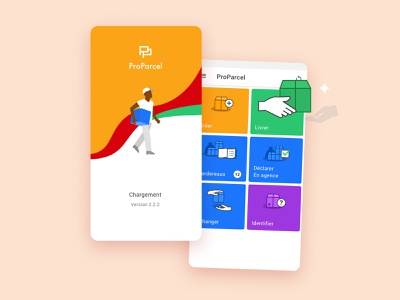 App tracking parcel professional product design products home uidesign uiux ui african africa tracking parcel android app mobile