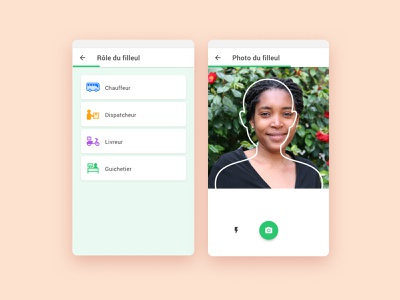 Sponsorship uidesign uiux ui tracking app parcel photo sponsorship mobile app