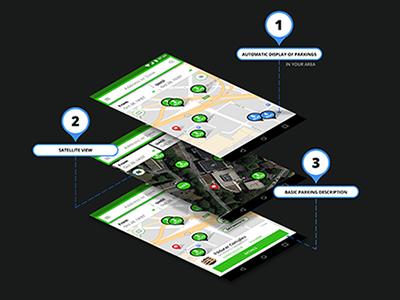 ParkingFriend Android App Concept
