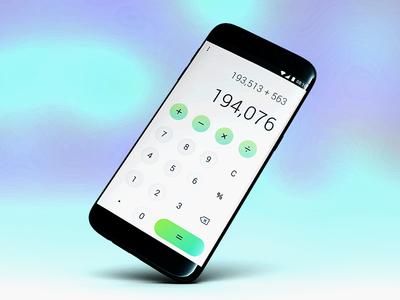 Dailyui #004 Calculator app