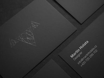 Martin Holata – Business Cards stationary branding identity logo print business card