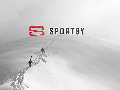 SportBy Branding logotype graphic design motivation sport logo designer logo identity branding