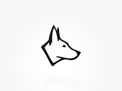 Giacko Academy Branding k9 identity symbol branding dog logo design logo