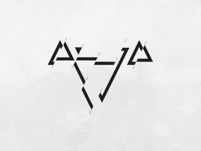 Triangles – move branding identity symbol minimalistic logo designer clean geometric graphic design logotype logo