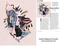 Collage For Fashion Magazine