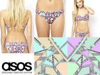 Pattern  Illustration for Asos Apparel Swimwear