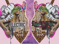 Electric Mixed Media Fashion Editorial Collage